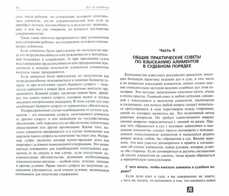 Иллюстрация 1 из 3 для Все об алиментах. Оформление, неуплата, взыскание - Мария Кузьмина | Лабиринт - книги. Источник: Лабиринт