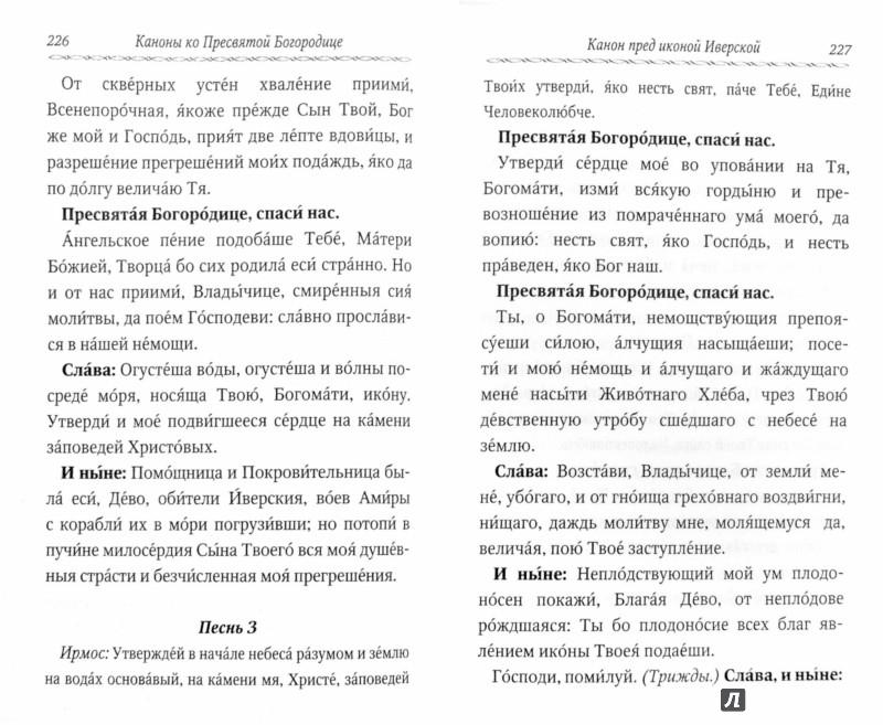 Иллюстрация 1 из 3 для Сборник канонов ко Господу, Пресвятой Богородице, в честь двунадесятых праздников и святых | Лабиринт - книги. Источник: Лабиринт