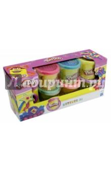 Набор пластилина Блестящая коллекция (6 баночек) (A5417)Пластилин 4—10 цветов<br>Этот набор из 6 баночек Play-Doh с блестящим пластилином позволят твоим поделкам сверкать как никогда раньше.<br>Великолепное дополнение к наборам из линейки Принцессы Дисней.<br>В комплекте 6 баночек пластилина Play-Doh, 2 штампа.<br>Материал: пластмасса, пластилин.<br>Для детей от 3-х лет. Содержит мелкие детали.<br>Сделано в Китае.<br>