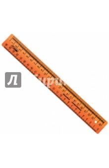 Линейка закройщика NEON (25 см, 4 цвета) (ЛН61) СТАММ