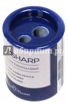 """Точилка для карандашей металлическая """"Easysharp"""" (в ассортименте) (35-0001)"""