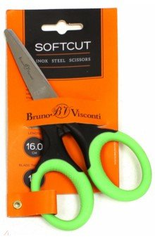 """Ножницы из нержавеющей стали """"Softcut"""" (16 см) (60-0015) Bruno Visconti"""