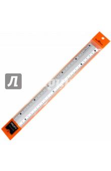 Линейка металлическая. Рифленая. 30 см. PROFY (45-0104)