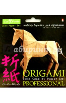 """Бумага цветная для оригами """"Профессионал"""". В ассортименте (11-30-181) Альт"""