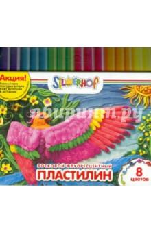 Пластилин восковой флуоресцентный Юбилейная коллекция (8 цветов) (956141-08)