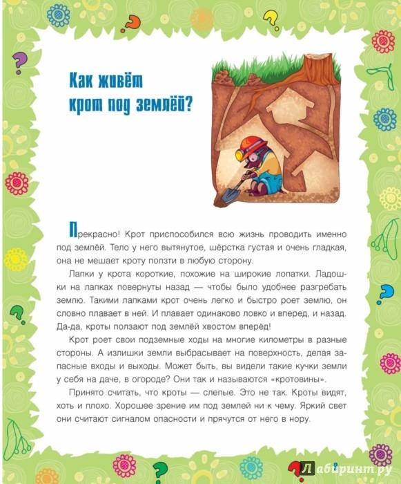 Иллюстрация 3 из 10 для Почему крапива жжется? И другие детские