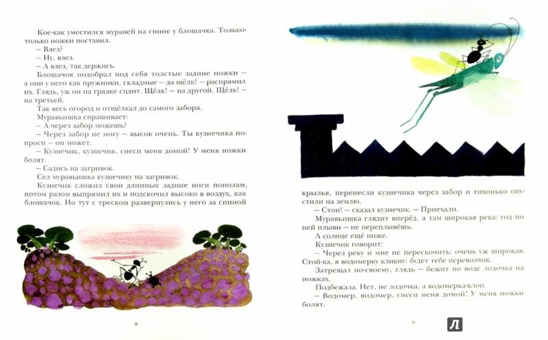 Иллюстрация 1 из 46 для Как муравьишка домой спешил - Виталий Бианки   Лабиринт - книги. Источник: Лабиринт
