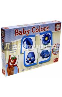 Игра-пазл Цвета (15861)Обучающие игры-пазлы<br>Сгруппируй предметы или животных по цвету и выучи цвета!<br>Коллекция  Baby Educa  стимулирует внимательность, развивает психомотрику, любопытство и воображение.<br>Состав: 6 пазлов из 4 элементов.<br>Материал: картон.<br>Упаковка: картонная коробка.<br>Для детей от 2 лет.<br>Сделано в Испании.<br>