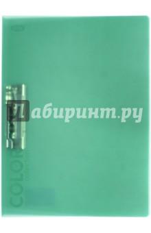 Папка с зажимом, зелёный полупрозрачный (85556) Икспрессо