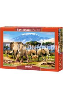 """Puzzle-1000 """"Слоны"""" (C-103188)"""