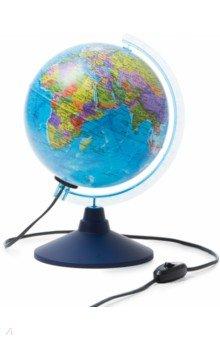 Глобус Земли политический с подсветкой (d=210 мм) (Ке012100180) Globen