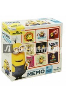 Minions. Настольная игра Мемо + пазл-24 (01710)Карточные игры для детей<br>Настольная игра Мемо развивает память и внимание, а пазл из 24 элементов - мелкую моторику рук и воображение.<br>В наборе: 30 карточек для мемо, пазл из 24 элементов.<br>Материал: картон, бумага.<br>Упаковка: картонная коробка.<br>Для детей от 4 лет.<br>Сделано в России.<br>