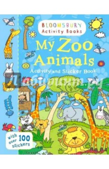 My Zoo Animals. Activity and Sticker BookИзучение иностранного языка<br>Lions, tigers, penguins, gorillas and many more! Go wild with all your favourite zoo animals. Bloomsbury Activity Books is an exciting new Bloomsbury brand designed to provide hours of colouring, doodling, stickering and activity fun for boys and girls alike. Every book includes enchanting, bright and beautiful illustrations which children and parents will find very hard to resist. Perfect for providing entertainment at home or on the move!<br>