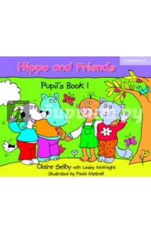 Hippo and Friends 1. Pupils BookИзучение иностранного языка<br>A delightful three-level pre-school course based on songs and stories. The Pupils Book has stories in each unit which are designed to encourage positive attitudes in children such as helping others and sharing. At the end of each unit children have the opportunity to make a simple storybook which they can take home with them. This takes English outside the classroom, making the language more meaningful, and enables parents to be involved in the learning process.<br>