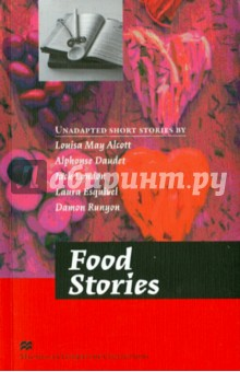 Food StoriesХудожественная литература на англ. языке<br>These advanced-level Readers contain a variety of original short stories written by famous classic and modern writers. They are perfect for those students who are ready to make the transition from graded readers to unadapted English literature texts.<br>Each collection provides substantial language support including vocabulary, comprehension questions and language-study exercises. There is also a literary analysis section to help students examine themes, characterisation and plot -thus increasing their understanding and appreciation of each story.<br>Food Stories.<br>This  tasty  collection brings together five stories and extracts all with food at their heart. Food and literature have a long relationship and food is used to shed light on characters and relationships, from meals as the centre of family life to food as a political symbol. With all kinds of stories and all kinds of foods, there will be something for all literature (and food) lovers to enjoy.<br>An Old-Fashioned Thanksgiving by Louisa May Alcott.<br>The children prepare a surprise Thanksgiving dinner while their parents are away<br>The Little Pies by Alphonse Daudet.<br>A family man worries about his pies while the city around him is rocked by a revolution<br>A Piece of Steak by Jack London.<br>An ageing boxer fights to feed his family<br>Like Water for Chocolate: January by Laura Esquivel.<br>Lessons in life, love and food from a Mexican kitchen<br>A Piece of Pie by Damon Runyon.<br>Eating becomes a spectator sport<br>Answer keys and further support are available from the Macmillan Readers website.<br>