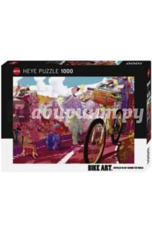 """Puzzle-1000 """"Прогулка в розовом цвете"""" (29677)"""