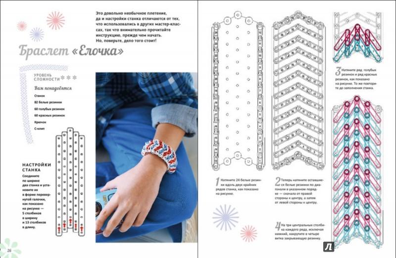 Инструкции к плетению браслетов из резиночек