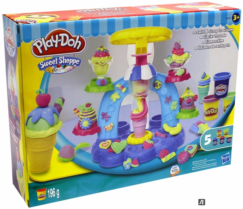 """Иллюстрация 1 из 9 для Игровой набор """"Фабрика Мороженого"""" PLAY-DOH (B0306)   Лабиринт - игрушки. Источник: Лабиринт"""