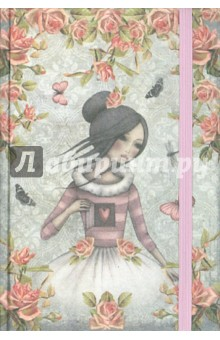 Записная книжка Santoro (80 листов, B6, клетка) (SA15-NBF680) Proff