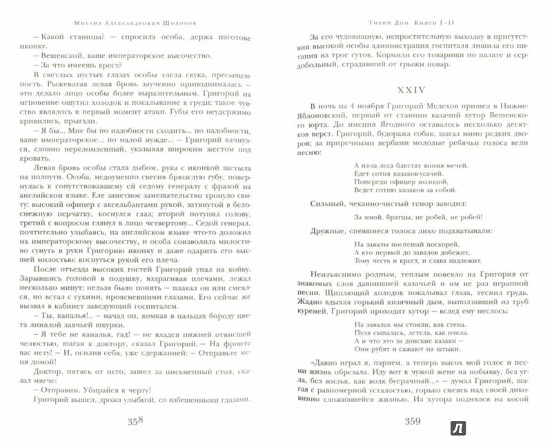 Иллюстрация 1 из 25 для Тихий Дон. Книги I-II - Михаил Шолохов | Лабиринт - книги. Источник: Лабиринт