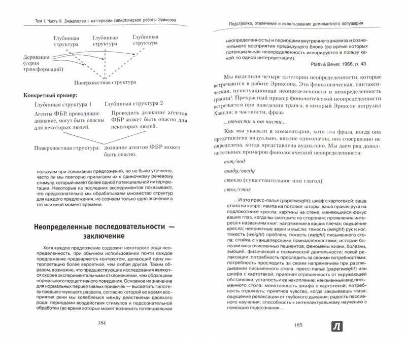 Иллюстрация 1 из 6 для Полный курс гипноза. Паттерны гипнотических техник Милтона Эриксона - Делозье, Эриксон, Бэндлер, Гриндер | Лабиринт - книги. Источник: Лабиринт