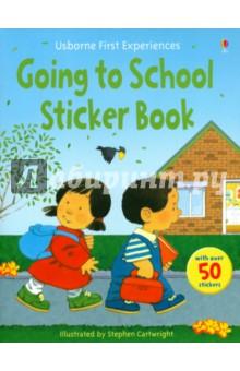 Civardi Anne First Experience Sticker Book. Going to School