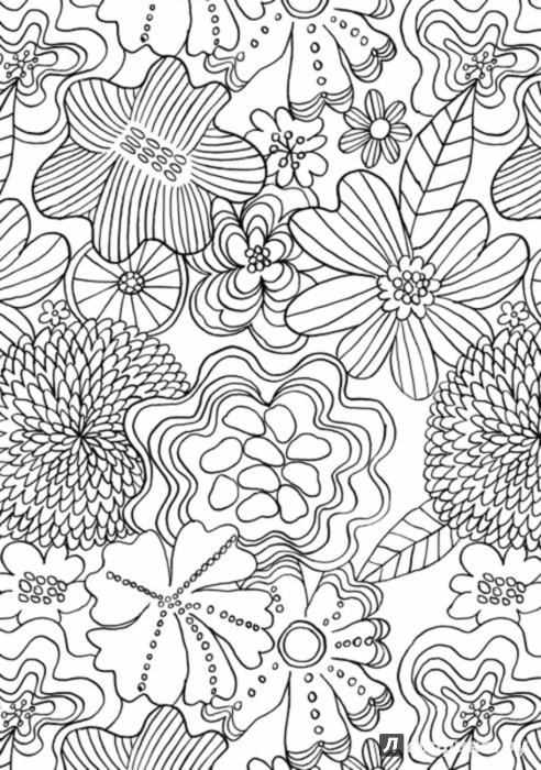 Иллюстрация 1 из 18 для Антистресс для занятых людей. Медитативная раскраска (макси) - Эмма Фарраронс | Лабиринт - книги. Источник: Лабиринт