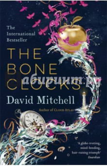The Bone ClocksХудожественная литература на англ. языке<br>The dazzling new novel from the author of Cloud Atlas, at once the kaleidoscopic story of an unusual woman s life, a metaphysical thriller and a profound meditation on mortality and survival.<br>The dazzling new novel from the bestselling author of CLOUD ATLAS.<br>Longlisted for the Man Booker Prize 2014<br>Run away, one drowsy summer s afternoon, with Holly Sykes: wayward teenager, broken-hearted rebel and unwitting pawn in a titanic, hidden conflict.<br>Over six decades, the consequences of a moment s impulse unfold, drawing an ordinary woman into a world far beyond her imagining. And as life in the near future turns perilous, the pledge she made to a stranger may become the key to her family s survival . . .<br>In 1984, teenager Holly Sykes runs away from home - a Gravesend pub. Sixty years later, she is to be found in the far west of Ireland, raising a granddaughter as the world s climate collapses.<br>In between, Holly is encountered as a barmaid in a Swiss resort by an undergraduate sociopath in 1991; has a child with a foreign correspondent covering the Iraq War in 2003; and, widowed, becomes the confidante of a self-obsessed author of fading powers and reputation during the present decade. Yet these changing personae are only part of the story, as Holly s life is repeatedly intersected by a slow-motion war between a cult of predatory soul-decanters and a band of vigilantes led by one Doctor Marinus. Holly begins as an unwitting pawn in this war - but may prove to be its decisive weapon.<br>The arc of a life, a social seismograph, a fantasy of shadows and an inquiry into aging, mortality and survival, THE BONE CLOCKS could only have been written by David Mitchell.<br>
