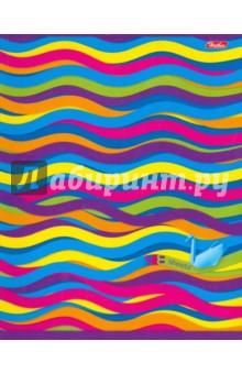 """Тетрадь общая """"Lines"""" (48 листов, линейка, в ассортименте) (48Т5В2) Хатбер"""