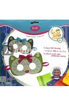 Набор для создания масок из фетра Совы (57969)Украшения из бисера, бусин, страз и ниток<br>Набор для создания масок из фетра.<br>В наборе: 10 фетровых заготовок масок, 4 разные ленточки, 1 пластиковая игла, 36 пайеток, нитки, инструкция.<br>Материал: текстиль, пластик.<br>Упаковка: картонный блистер.<br>Для детей от 5 лет.<br>Сделано в Китае.<br>