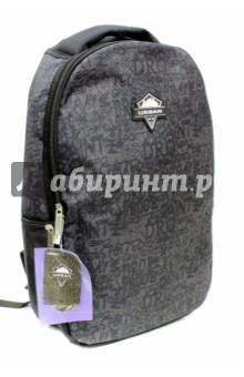 Рюкзак подростковый Urban Style(UW15-BPA-12)Рюкзаки школьные<br>Рюкзак подростковый.<br>Для транспортировки и хранения личных вещей.<br>В рюкзаке:<br>- 1 большое отделение на молнии с внутренними карманами<br>- 3 боковых наружных кармана на молнии<br>Уплотненные лямки.<br>Длина лямок регулируется.<br>Материал: внешние поверхности, подкладка - полиэстер; уплотнители - поролон; элементы отделки - пластик, металл, ПВХ.<br>Сделано в Китае.<br>