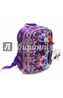 Рюкзак школьный RIO 40х28х20 (830725)Ранцы и рюкзаки для начальной школы<br>Рюкзак школьный.<br>Ткань устойчива к выгоранию, обладает водоотталкивающими и морозоустойчивыми свойствами.<br>Облегченный вес рюкзака.<br>Наличие множества функциональных карманов, в том числе<br>и для ноутбука.<br>Рюкзак оснащен специальным дном с ножками.<br>Оптимально разработанные размеры рюкзака позволяют ребенку разместить все необходимые тетради и учебника для школы и внеклассных занятий.<br>Для удобства и комфорта на спинке и лямках рюкзака используются эргономичные смягчающие подушечки с вентиляционными отверстиями. Наличие поясничного валика (расположен в нижней части спинки) - именно на него при правильном ношении рюкзака приходится основная нагрузка.<br>Специальная жесткая конструкция спинки рюкзака оптимально распределяет нагрузку на позвоночник, способствуя формированию правильной осанки.<br>2 отделения.<br>Сделано в Китае.<br>