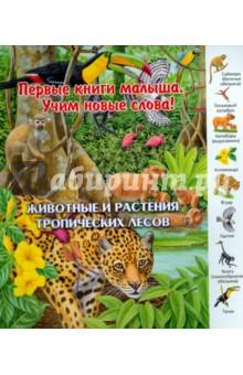 Животные и растения тропических лесовЗнакомство с миром вокруг нас<br>Бесшумно ступает ягуар в джунглях Амазонии. <br>Пронзительными криками защищает свою территорию обезьяна-ревун. Тукан и попугай ара тоже издают громкие звуки. <br>А муравьед, гарпия, оцелот и ленивец ведут себя очень тихо. <br>На кого из животных может напасть кайман? На водосвинку или молодого тапира?<br>