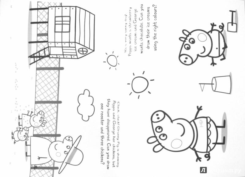 Иллюстрация 1 из 7 для Doodle with Peppa | Лабиринт - книги. Источник: Лабиринт