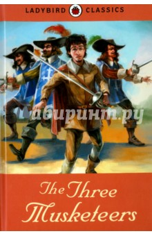 The Three MusketeersИзучение иностранного языка<br>This Ladybird Classic is an abridged retelling of the classic story of The Three Musketeers by Alexandre Dumas, making it perfect for introducing the story to younger children, or for newly confident readers to tackle alone. Beautiful new illustrations throughout and a gorgeous larger format with ribbon marker bring the magic of this classic story to a new generation of children.<br>Retold by Joan Cameron.<br>