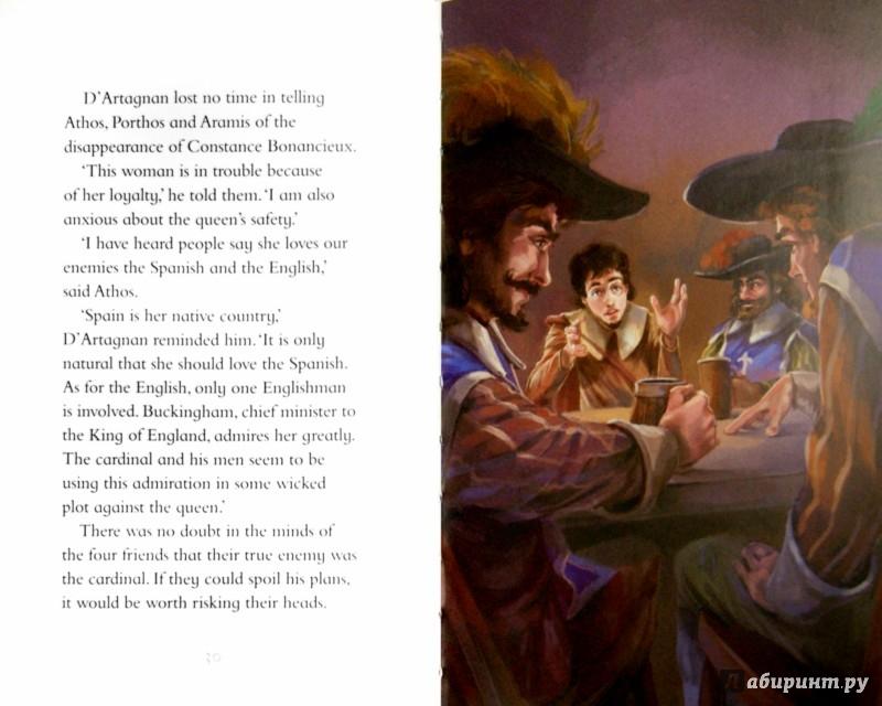 Иллюстрация 1 из 11 для The Three Musketeers - Alexandre Dumas | Лабиринт - книги. Источник: Лабиринт