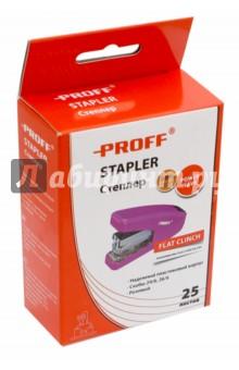 Степлер, розовый (PF-5644-12) Proff