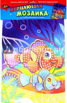 """Мерцающая мозаика """"Коралловые рыбки"""" (А3) (С1573-14)"""