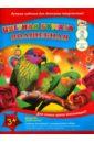 """Бумага цветная волшебная """"Три попугая"""" (18 листов, 10 цветов) (С0192-10)"""
