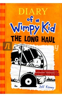 Diary of a Wimpy Kid. The Long HaulЛитература на иностранном языке для детей<br>A family road trip is supposed to be a lot of fun . . . unless, of course, you re the Heffleys. The journey starts off full of promise, then quickly takes several wrong turns. Gas station bathrooms, crazed seagulls, a fender bender, and a runaway pig-not exactly Greg Heffley s idea of a good time. But even the worst road trip can turn into an adventure-and this is one the Heffleys won t soon forget.<br>