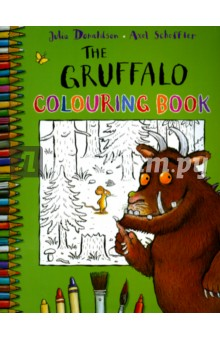 The Gruffalo Colouring BookИзучение иностранного языка<br>There s lots to do in this busy book, so grab your pens and pencils and get ready to join in.<br>Includes:<br>o painting    <br>o colouring<br>o drawing<br>o join-the-dots<br>and much more!<br>