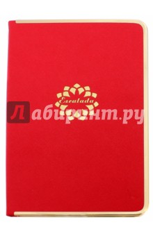 """Ежедневник недатированный """"Кросс"""" (192 страницы, твердая обложка, красный) (35906-20) Феникс+"""