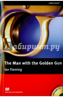 Man with the Golden Gun  (+ 3CD)Художественная литература на англ. языке<br>Scaramanga is a cold-blooded killer with connections to the KGB and the Cuban Secret Police. There is only one man skilled enough and brave enough to go after him - 007, James Bond. To carry out the mission, Bond ends up in Jamaica, where he meets two old friends.<br>