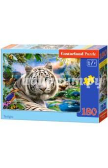 """Puzzle-180 """"Белый тигр"""" (В-018192)"""