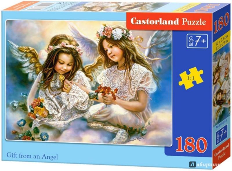 """Иллюстрация 1 из 6 для Puzzle-180 """"Два Ангела"""" (В-018215)   Лабиринт - игрушки. Источник: Лабиринт"""