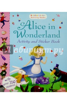 What happens when Alice follows the white rabbit? Find out with this magical activity book, packed full of colourful stickers. Bloomsbury Activity Books provide hours of colouring, doodling, stickering and activity fun for boys and girls alike. Every book includes enchanting, bright and beautiful illustrations which children and parents will find very hard to resist. Perfect for providing entertainment at home or on the move!