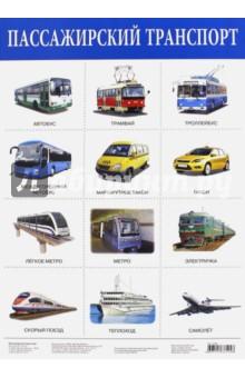 "Плакат ""Пассажирский транспорт"" (2166)"