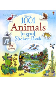 Brocklehurst Ruth 1001 Animals to Spot Sticker Book