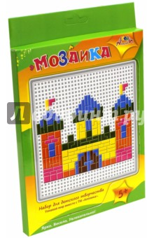 """Мозаика тетрис """"Техника, Замок"""" (С2429-01)"""