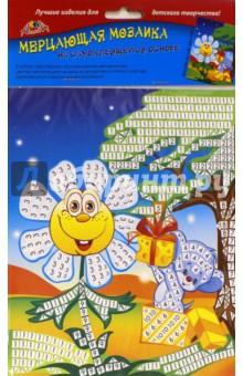 """Мозаика мерцающая самоклеящаяся """"Ромашка, мышка"""", А5 (С2420-06)"""